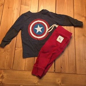 GAP/ Old Navy Outfit 'Captain America'